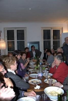 Le repas Photographie : Jean-Pierre Nemirovski