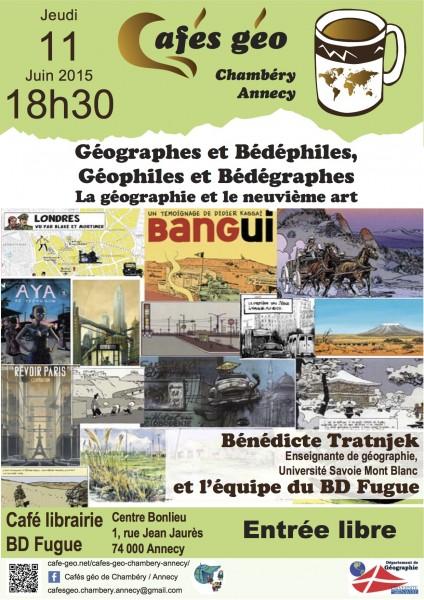 Affiche Café Géo BD