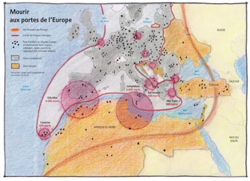 CafesGeo_StEtienne_Frontieres_Europe_Migrants_Morts