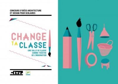 Concours d'idées architecture et design pour scolaire Change ta classe !, Cité de l'architecture & du patrimoine.