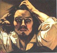 Portrait de l'artiste, dit Le désespéré, 1844-1845 Coll. particulière