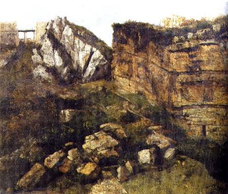 La Roche pourrie, étude géologique, 1864, Salins-les-Bains musée Max Claudet, déposé au Musée de Dole
