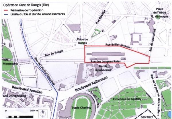 Opération Gare de Rungis, 13 è.