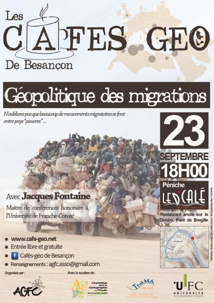 Geopolitique des migrations besancon