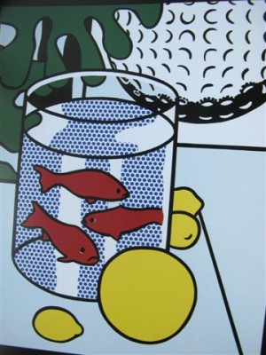 Still Life with Goldfish, 1972