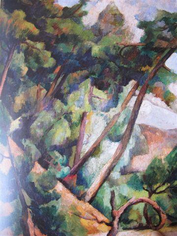 Paysage du Midi (1918) Museo Dolorès Olmedo, Mexico, Xochimilco