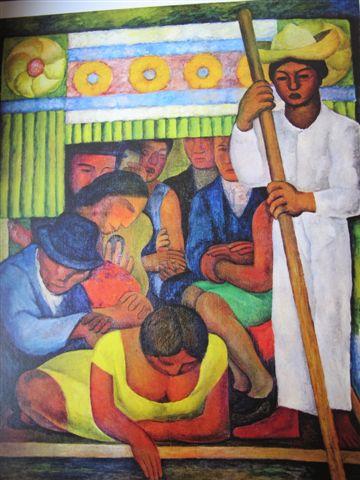 Le canoë fleuri (1931) Museo Dolorès Olmedo, Mexico, Xochimilco