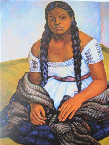 Femme aux tresses (1941)Collection Miguel Aleman Velasco