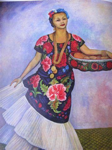 Dolorès Olmedo La Tehuana (1955) Museo Dolorès Olmedo, Mexico, Xochimilco