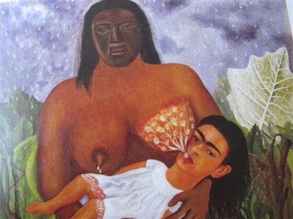 Ma nourrice et moi (1937) Museo Dolorès Olmedo, Mexico, Xochimilco