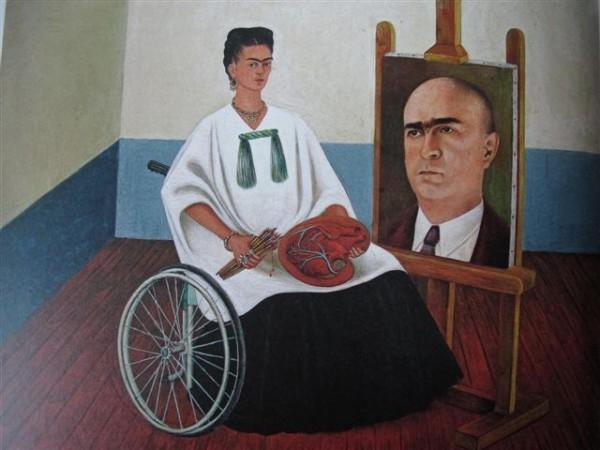 Portrait avec le portrait du Docteur Farill (1951) Collection particulière