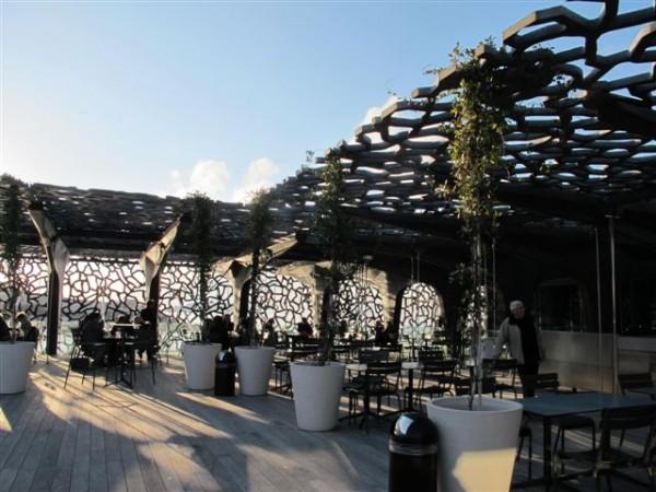 Le toit terrasse du J4
