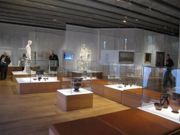 L'intérieur de la galerie méditerranéenne