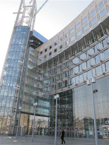 Le centre commercial Italie 2, architecte Kenzo Tange (1991)