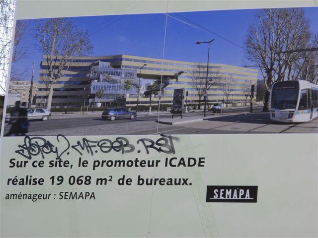Affiche publicitaire pour le programme de bureaux