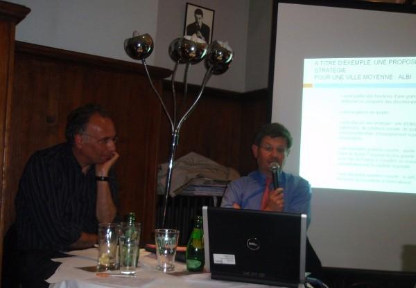 Daniel Behar et Philippe Bonnecarrère