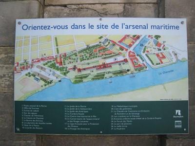 Site de l'arsenal maritime de Rochefort