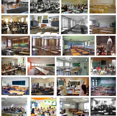 Recherche « salle de classe », première page de résultats dans Google Images, 15 décembre 2012.