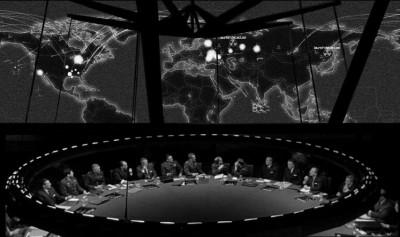 Un extrait du film de Stanley Kubrick, « Docteur Folamour » (1964).