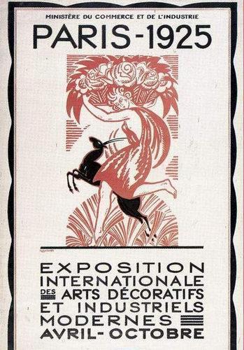 Affiche de l'Exposition de 1925