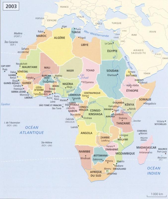 Carte De Lafrique Et Leurope.Les Cafes Geo L Afrique Des Routes