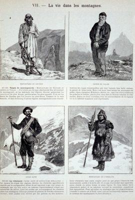 Illustration 1 : Album Géographique, Dubois et Guy, 1896.