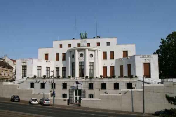 L'ambassade de France à Belgrade (1932, architecte : Roger-Henri Expert). Photo de Rémi Jouan, 2012.