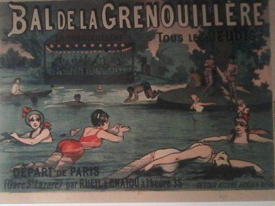 Figure 2 La Grenouillère. Affiche de 1888