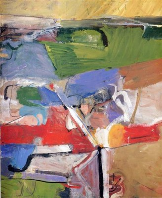 Richard Diebenkorn, Berkeley # 23 -1955- SFMOMA. Don du Women's Board.
