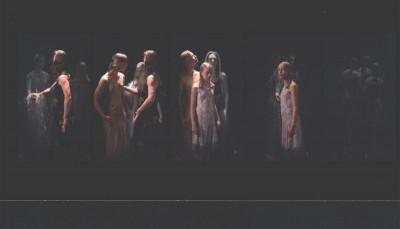 Trois femmes, 2008, Studio Bill Viola