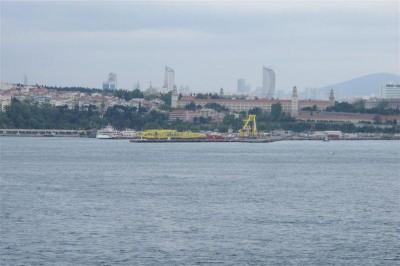 Le Bosphore et la rive asiatique d'Istanbul