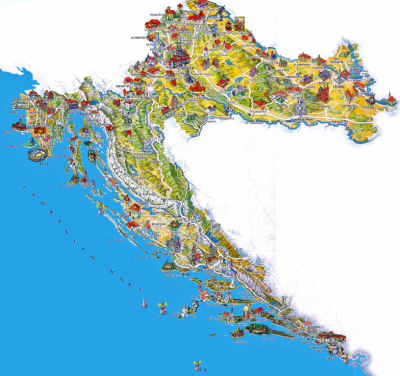 carte-touristique-croatie