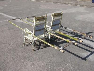 Chaises à porteurs (cliché de Maryse Verfaillie)