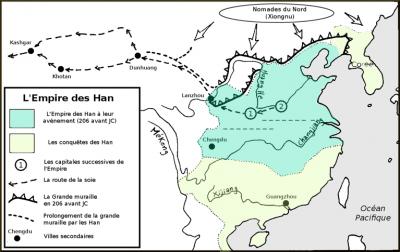 La Chine des Han : 4 siècles d'expansion territoriale