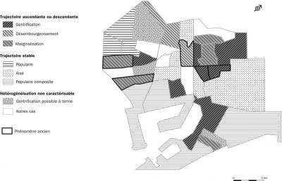 Ciutat Vella entre 1991 et 2005: un centre ancien fragmenté par de multiples processus