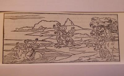 Francesco Colonna (1546) Le songe de Poliphile, Gravure sur bois, Coll. A.R.