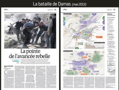 La bataille de Damas