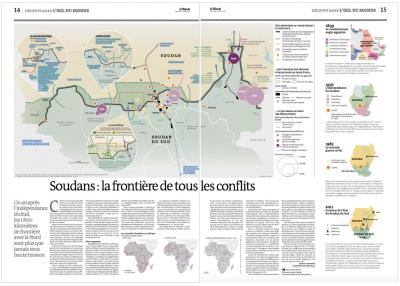 Soudans : la frontière de tous les conflits