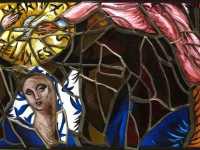 Détail du Couronnement de la Vierge, 1995