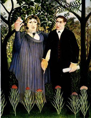 La Muse inspirant le poète, 1908-09 Musée d'Etat des Beaux Arts Pouchkine – Moscou