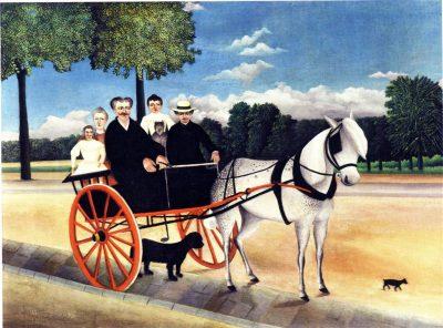 La carriole du père Junier, 1906 - Musée de l'Orangerie, Paris