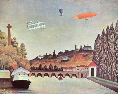 Vue du pont de Sèvres et des collines de Clamart et de Bellevue, 1908  Musée d'Etat des Beaux Arts Pouchkine – Moscou