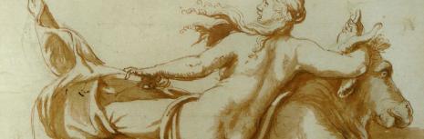 L'enlèvement d'Europe (Giulio Romano, fin XVIe siècle, détail, Musée des Beaux-Arts, Lille)