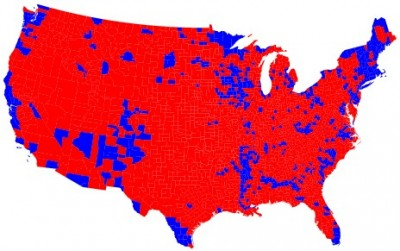 Frédéric Leriche, 2008, « Les Etats-Unis : une nouvelle géographie électorale ? », Cafés géographiques, rubrique Des Cafés, compte-rendu du café géographique du 29 octobre 2008.