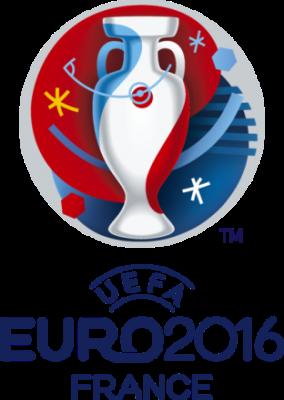 Figure 1: Logo officiel de l'Euro 2016 (UEFA et Brandia Central, tous droits réservés)