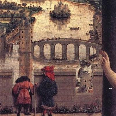 Fig.2. Détail des bateaux près du pont