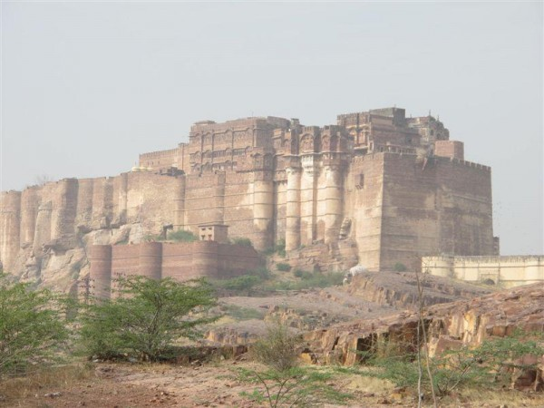 Le fort de Meherangarh (photo de Maryse Verfaillie, mars 2013)
