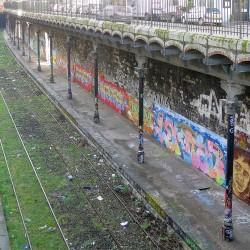 Petite Ceinture et gare Avenue de Saint-Ouen, 18e arrondissement (Source : Wikipédia)