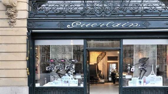 La nouvelle boutique Guerlain des Champs-Elysées