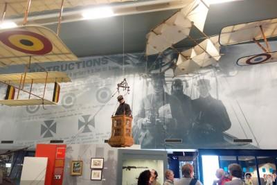 L'exposition sur la guerre aérienne en 1914-1918 (cliché J.-P. Némirowsky)